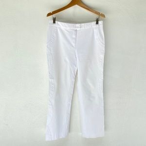 ESCADA black label collection white cotton pants